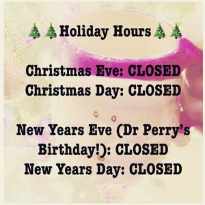 2018 Holiday Hours Eye Exam Eye Doctor Asheville NC